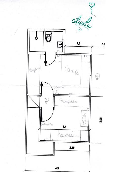 Como eu planejei os pontos hidráulicos e elétricos da minha casa?