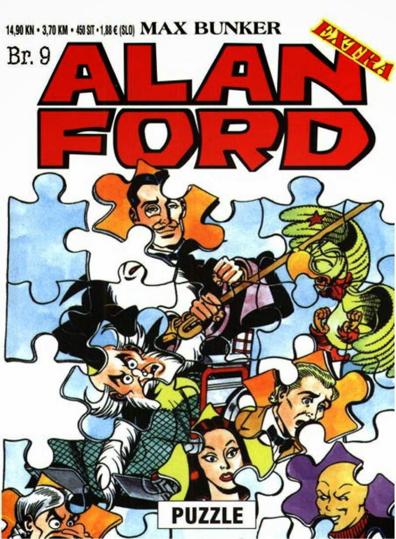 Puzzle - Alan Ford