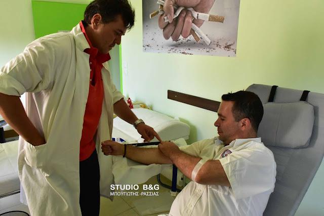 Ξεκινησε η τριήμερη αιμοδοσία στο Ναύπλιο για τα παιδιά του Νοσοκομείου ΠΑΙΔΩΝ «ΑΓΙΑ ΣΟΦΙΑ»