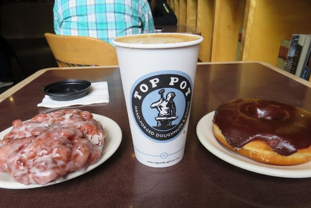 Seattle in a day: Top Pot Doughnuts