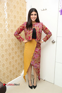 Actress Mannara Chopra Pictures at Natural Salon Launch  0206.JPG