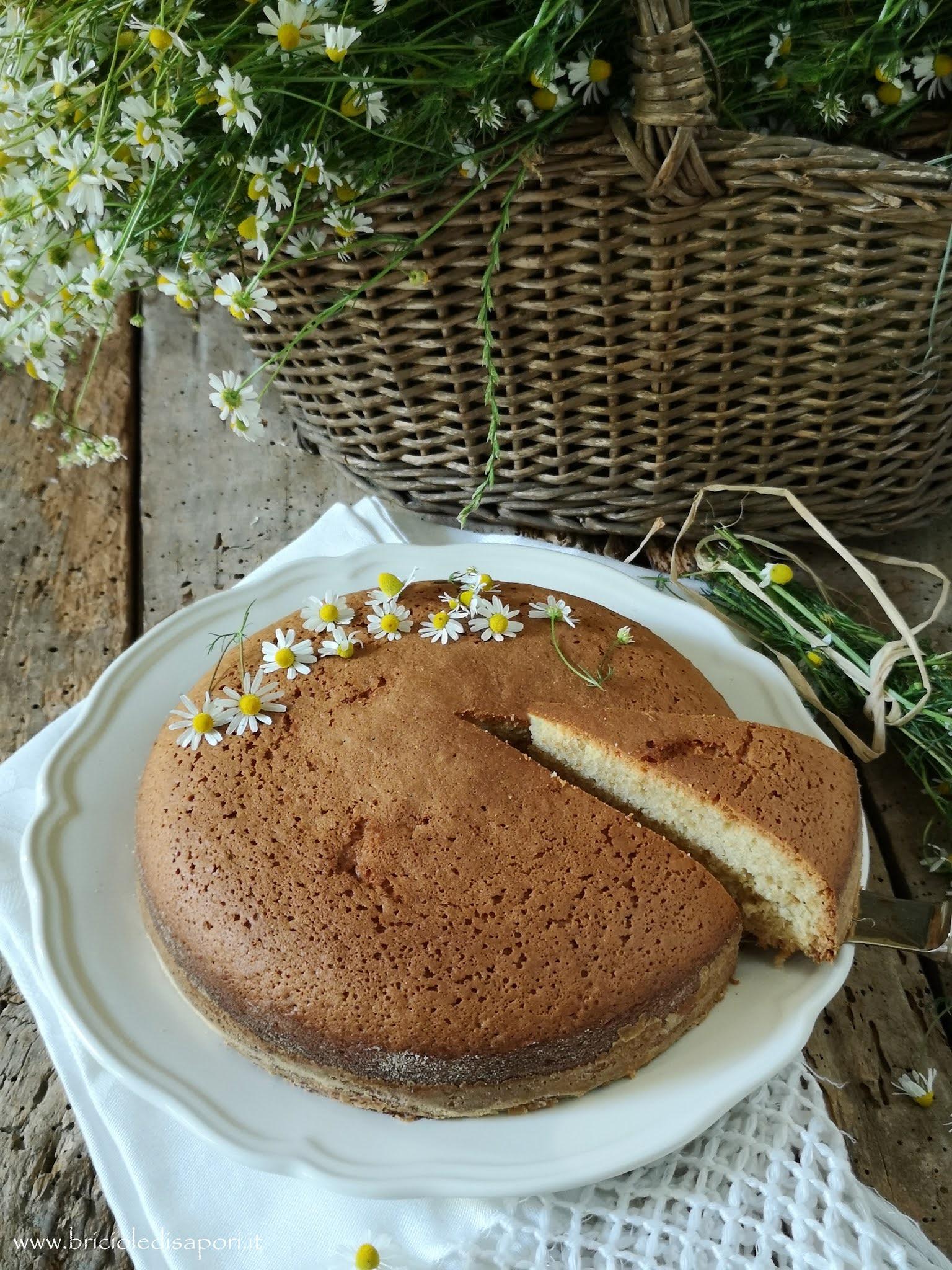 torta da credenza alla camomilla