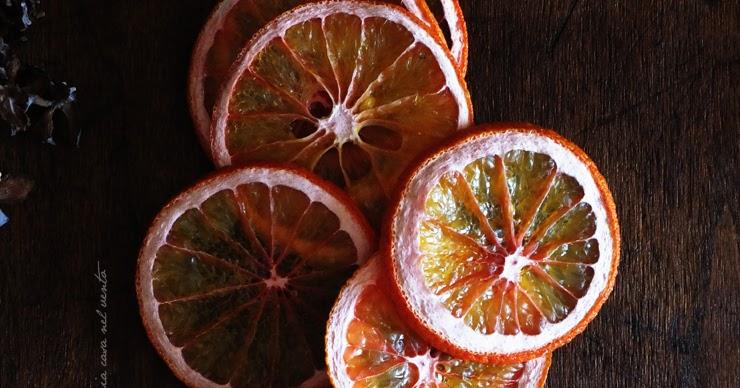 Come essiccare le fette di arancia