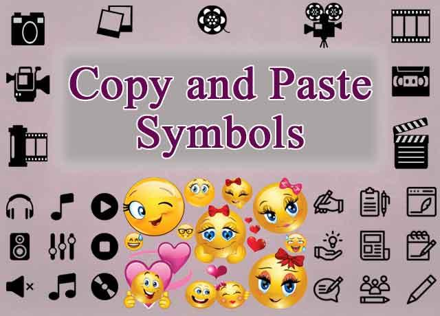 copy and paste symbols - get best text and emoji websites llist