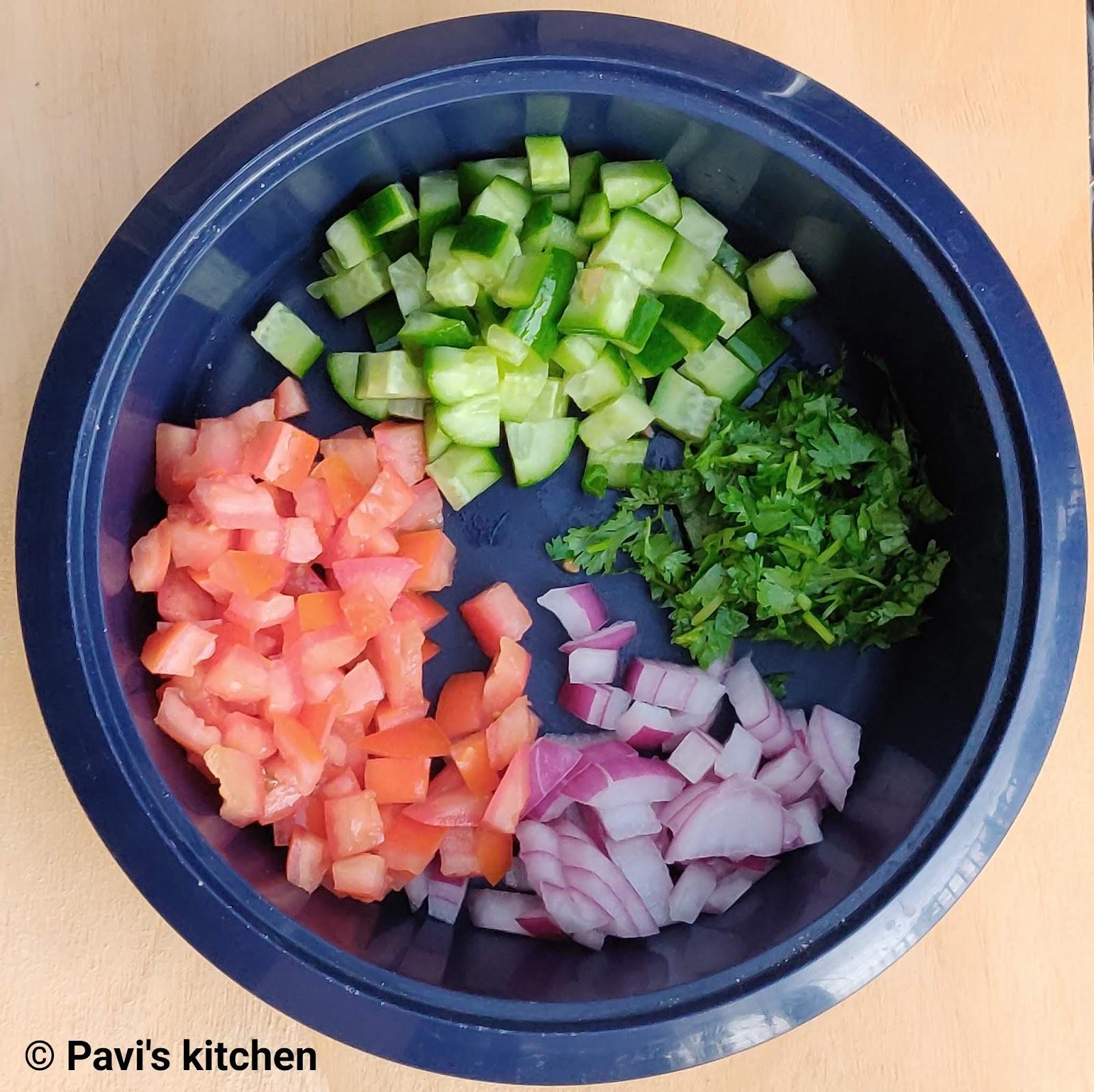 Indian Kachumber Salad Recipe
