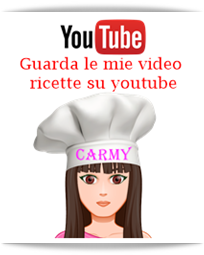 Carmy ricette youtube