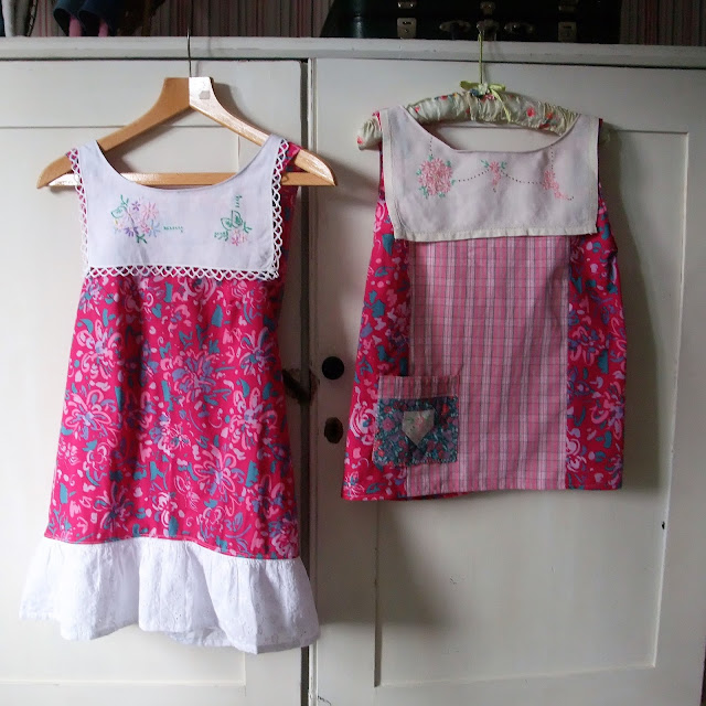vintage style pinafore tops by karen vallerius