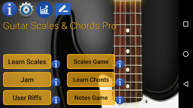 Guitar Scales & Chords Pro Full Apk
