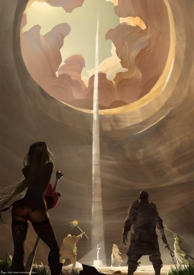 evan lee illustration game project 27