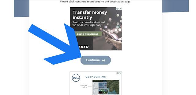 Imagem 2 - Como passar pelo protetor de links exe.io