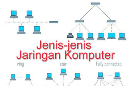Jenis-jenis Jaringan Komputer yang Harus Kamu Ketahui Berdasarkan Area, Topologi dan Fungsinya. Yukk Kita Pelajari...