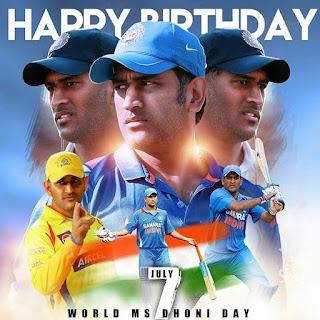 Ms dhoni birthday 2019