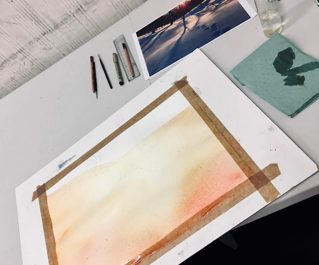 jak malować akwarela