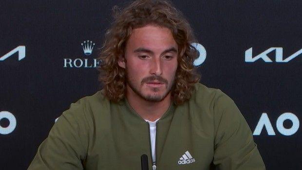 Τσιτσιπάς: ''Είναι δύσκολο να αποδεχθείς την ήττα όταν φτάνεις τόσο κοντά στον τελικό''