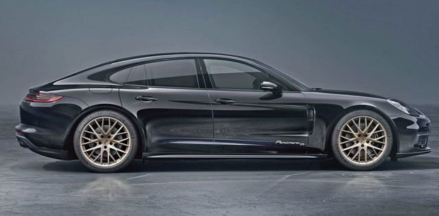 Porsche Panamera Gets Special Edition Trim on 10-Year ...