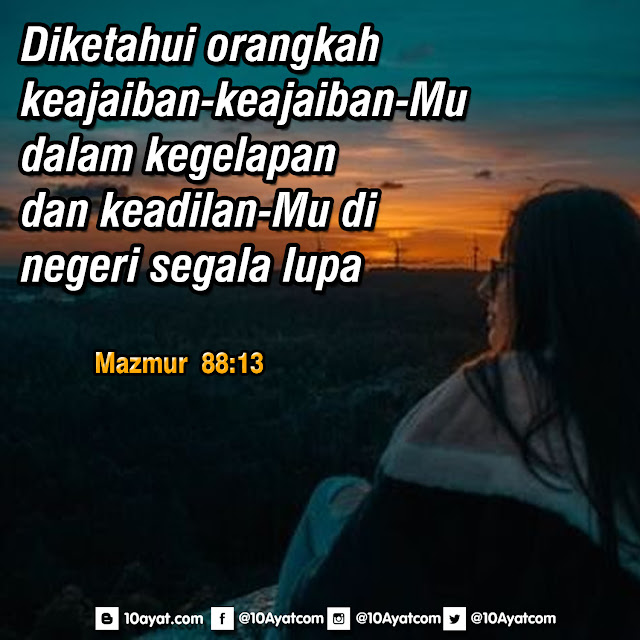 Mazmur 88:13