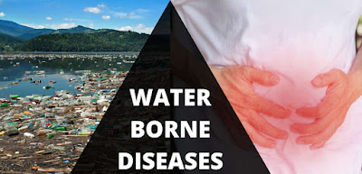 What are the diseases caused by water pollution?