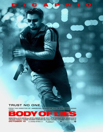 Body%2Bof%2BLies%2B%25282008%2529%2BBluRay%2BPoster - Body of Lies (2008) Dual Audio Hindi BluRay 480p 400MB ESubs
