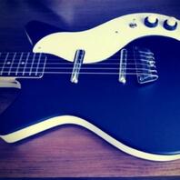 Guitarra eléctrica del famoso guitarrista de led Zeppelin Jimmy Page