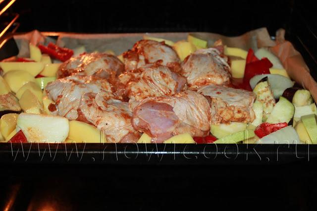 рецепт курицы в маринаде из бальзамического уксуса в  духовке с пошаговыми фото