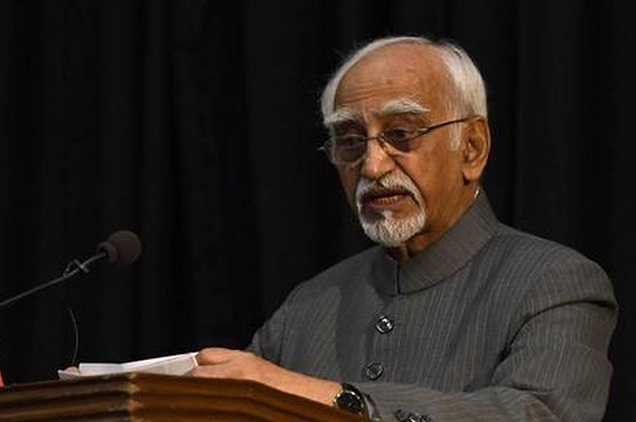 society became a victim of two other pandemics- religiosity and strident nationalism- Hamid Ansari
