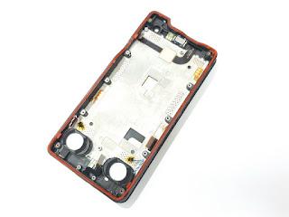 LCD Touchscreen Hp Outdoor Sonim XP8 XP8800 Plus Frame Speaker Buzzer Original Bekas