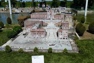 Italia en Miniatura, Plaza de España, Roma.