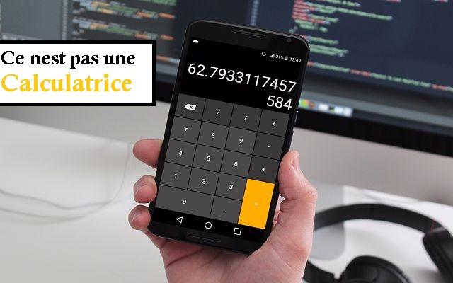 L'application est appelé Smart Hide Calculator , À première vue depuis son nom on va croire que c'est juste une calculatrice, mais non, ce n'est pas ainsi, mais il a une autre fonction qui cache les fichiers aux yeux des utilisateurs de votre téléphones