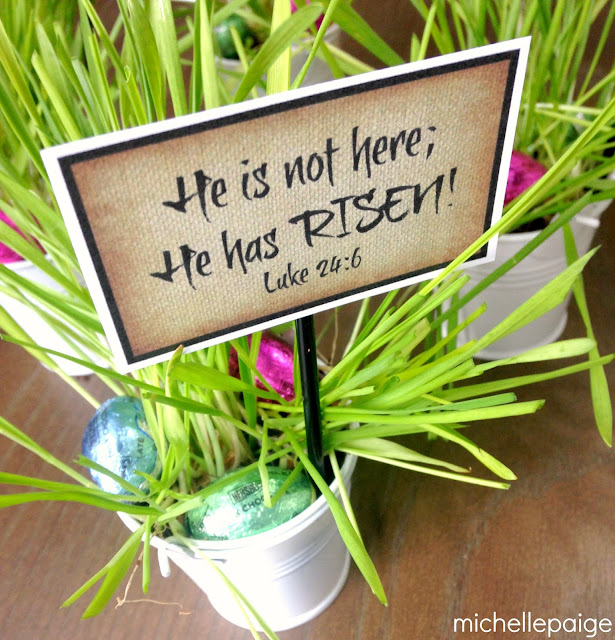 He has Risen Printable @michellepaigeblogs.com