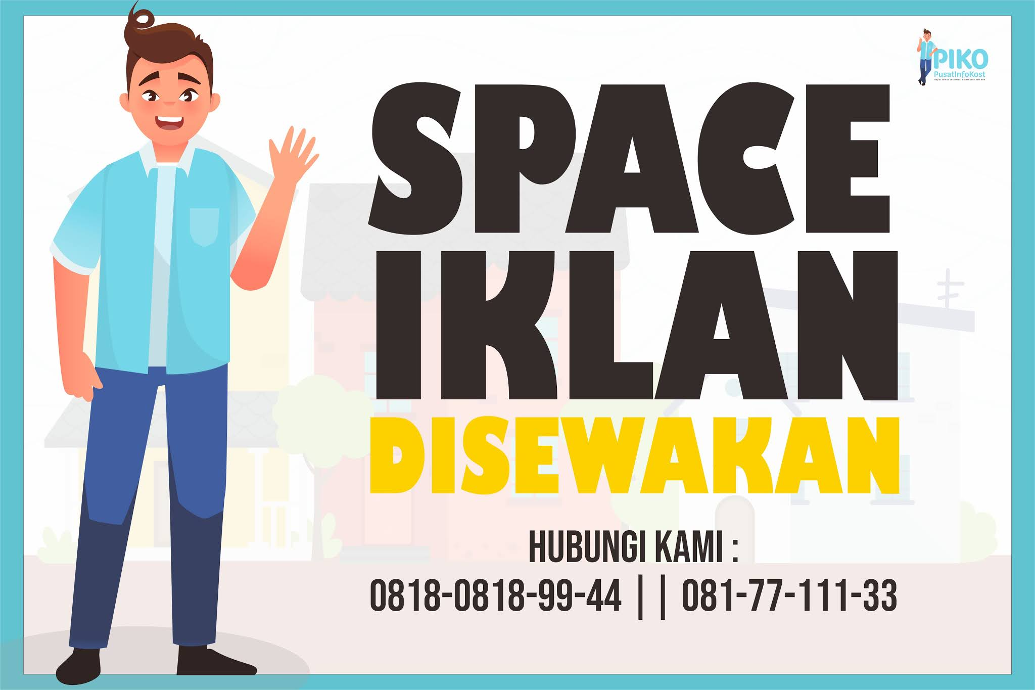 Space iklan disewakan