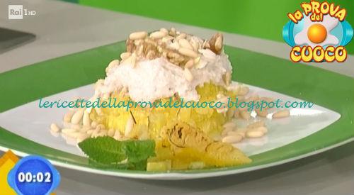 Cheesecake veloce all'ananas ricetta Salvatori da Prova del Cuoco