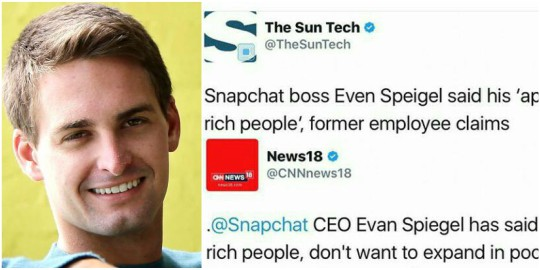 Snapchat CEO Under Fire For Calling India And Spain