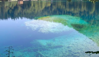 What are the places with the clearest water in the world