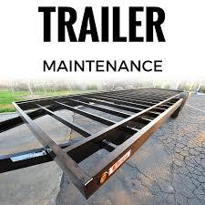 Basic Trailer Maintenance
