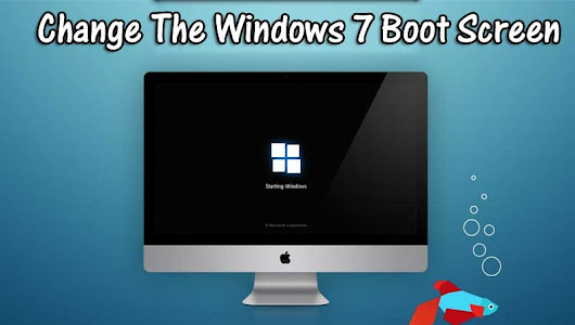 How To Change The Windows 7 Boot Screen - Online Classes