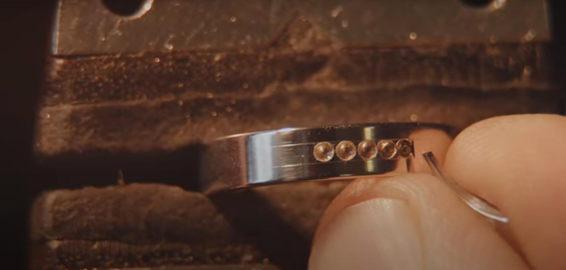 Процесс изготовления кольца