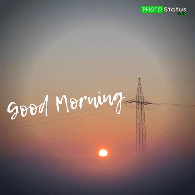 good morning status, good morning love status