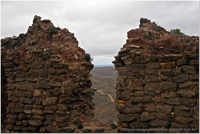 Camino desde el la muralla