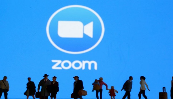 Ứng dụng họp trực tuyến Zoom đang bị giám sát ở mỹ - Ảnh: Reuters
