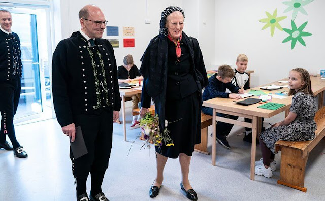 Queen Margrethe of Denmark is making an official visit to the Faroe Islands between the dates of July 15 and 19
