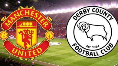 بث مباشر يلا شوت مشاهدة مباراة مانشستر يونايتد وديربي كاونتي اليوم 5-2-2020