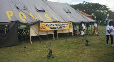 519 Personel Siap Amankan Kampanye Akbar Ridho-Berbhakti di Lapangan 16 C