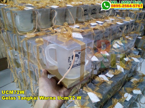 Grosir Gelas Tangkai Warna Ucm72 W