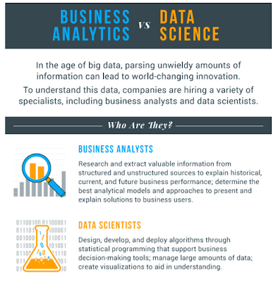 Figura 7: Infografía Business Analytics vs Data Science