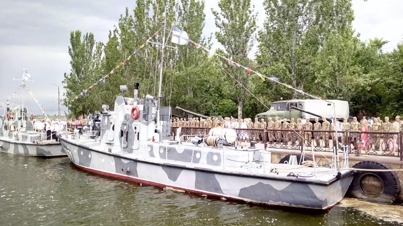 ВМСУ придбали водолазний бот проекту РВМ-376