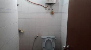 Kamar Mandi Plus Water Heater Gas