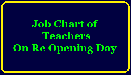 Job chart of Teachers on Re Opening Day /2020/08/job-chart-of-teachers-on-reopening-day.html