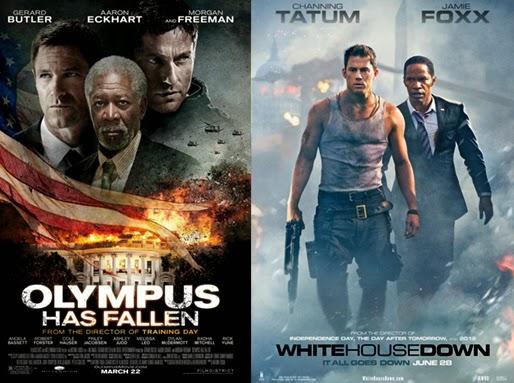 Commentaramafilms Olympus Has Fallen 2013 Vs White House Down 2013