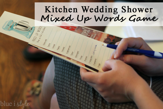 Entertaining With Style Three Kitchen Themed Wedding Shower Games