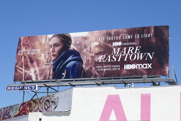 Mare of Easttown limited series billboard